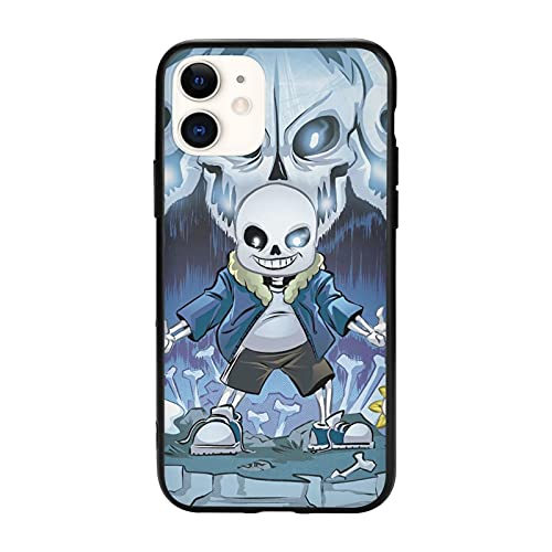 Undertale for iPhone 11 Phone Case TPU Silicone Edge Full Protection Cover