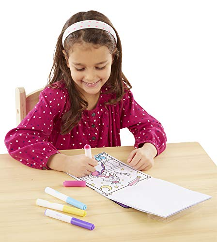 Melissa & Doug On the Go Magicolor Coloring Pad - Princess (18 Pages) |
