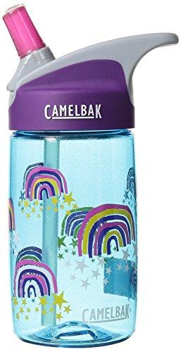 CamelBak Eddy Kids BPA Free Water Bottle 12 oz, Glitter Rainbows, .4L
