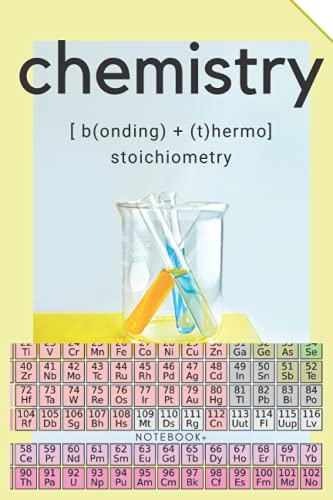 Chemistry Bonding + Thermo Stoichiometry Notebook
