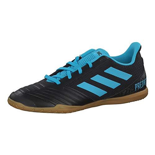 adidas Herren Fussballschuhe Predator 19.4 IN SALA CBLACK/BRCYAN/SYELLO 46 2/3