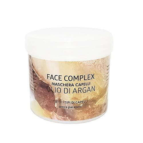 Mascarilla capilar con aceite de argán para todo tipo de cabello sin parabenos - 400ml