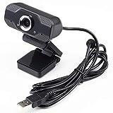 クオリティトラストジャパン WEBカメラ 200万画素 1080PフルHD マイク内蔵 USB2.0対応 webカメラ マニュアルフォーカス 在宅勤務 リモートワーク ブラック QWC-001