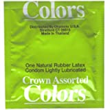 Crown Assorted Colors Condoms 12 Pack