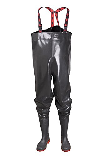 STRONG Anglerhose Wathose 40-47 EU PVC - Rubber New Generation als Latex