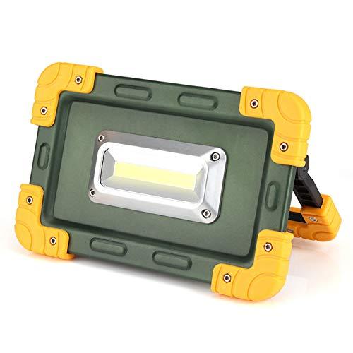 Lámpara de trabajo de punto de luz USB COB LED Lámpara de trabajo de punto de luz recargable portátil para acampar al aire libre