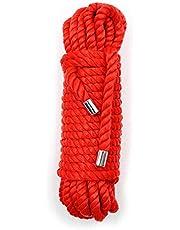 Bwer Cuerda de esclavitud encuadernar la restricción de la Carpeta para el Juego de Roles de esclavos, Accesorio erótico para Tocar Tie Up Fun-A-Red-20