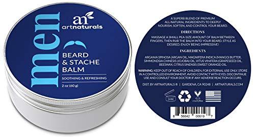 ArtNaturals Bartwachs und Schnurrbart Balsam Pomade - Leave-In Conditioner Abbildung 3