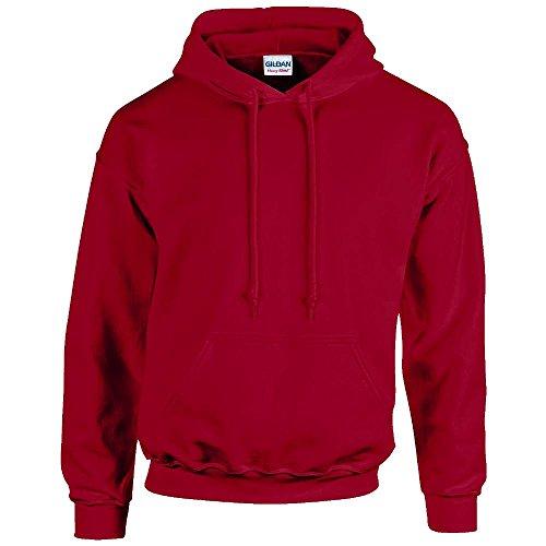 Gildan - Unisex Kapuzenpullover 'Heavy Blend' , Cardinal Red, Gr. M