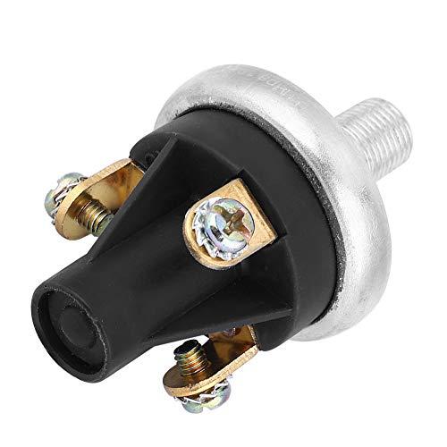 Okuyonic Sensor de presión de Aceite de Salida de Tres Cables Interruptor de Alarma de presión de Rosca de 1/8-27 Npt para Alarma