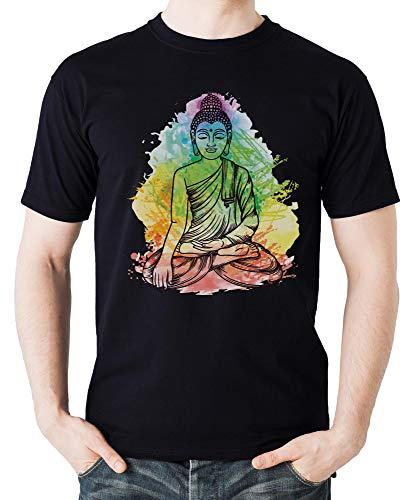 Meditating BuddhaGautama Boeddha Yogastil Namaste Mandala Om Cool Sweatshirt Ung och Gratis Stad...