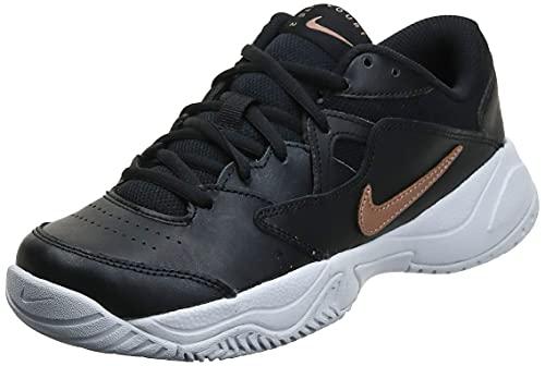 Nike NikeCourt Lite 2, Chaussure de Tennis Femme, Multicolore, 36 EU