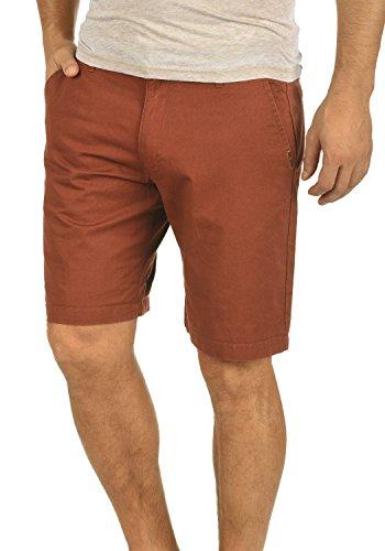 !Solid Thement Herren Chino Shorts Bermuda Kurze Hose Aus 100% Baumwolle Regular Fit, Größe:L, Farbe:Fox Brown (6792)