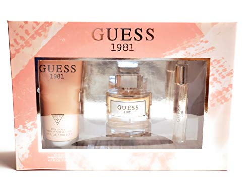 Guess 1981 Set (Eau de Toilette 100ml + Eau de Toilette 15ml + Body Lotion 200ml)