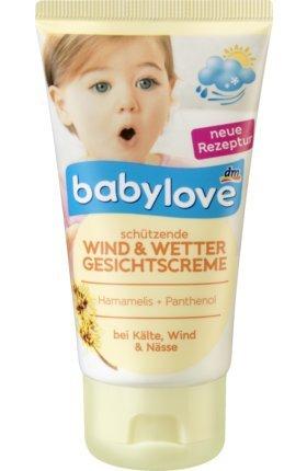 babylove Wind und Wetter Gesichtscreme, 75 ml