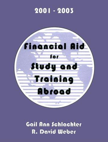 Financial Aid For Study Training Abroad 2001 2003 Financial Aid For Study And Training Abroad