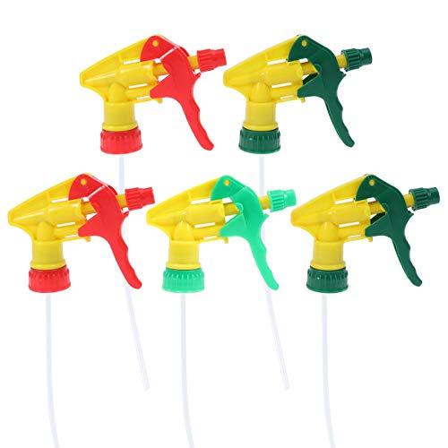 Cabilock - 5 bombas dispensadoras de plástico para botellas de jabón