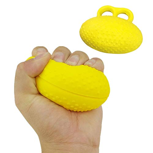 Finger Strengthener Eiförmige Griffbälle Handtrainer Hand Training Egg Press Ball, Handgymnastik Handmuskeltrainer für Damen & Herren - Unterarmtrainer + Fingertrainer