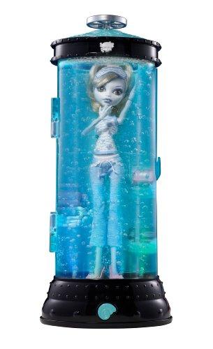 Monster High V7963 - Muñeca Lagoona Blue con Hidrocápsula Luminosa (Mattel) - incluye muñeca
