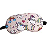 HXINFU Unicorn Eye Mask for Sleeping Eye Mask for Women Eye Shade Blindfold