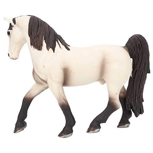 Realistische Pferd Figuren Kunststoff Pferd Spielzeug künstliche Simulation Wilde Tiere Modell pädagogisches Geschenk Spielset für Kinder(#1)