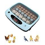 CHSHY 15-36 Incubador Automático Completo De Huevo, Torneado Automático De Huevos E Incubadora con Función De Control De Temperatura Y Humedad,36 Egg