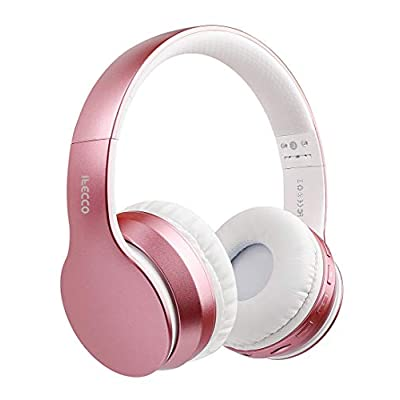 Ifecco Bluetooth Headphones, Bluetooth Foldable...