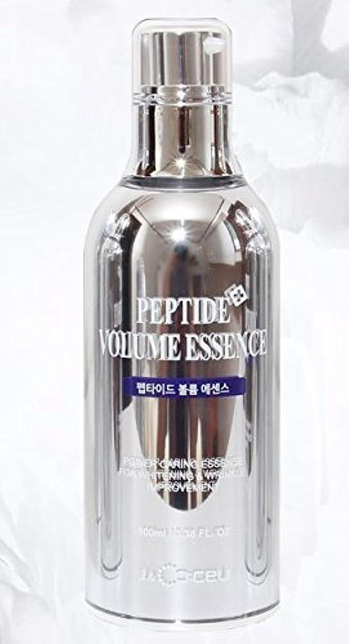 順番ブート対応J&Coceu ペプチドボリュームエッセンス100ミリリットル、3.38floz。 [並行輸入品]