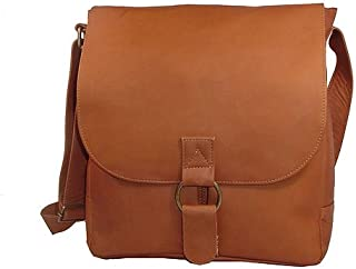 David King & Co. Messenger Bag 1, Tan, One Size