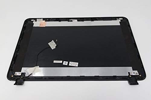 Back Cover LCD Screen for HP 15-G007DX HP Logo - Original Black 749641-001