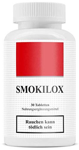 Smokilox | Endlich Nichtraucher | ohne Nikotin | Mit dem Rauchen aufhören | Rezeptfrei | 100{04503dcab5bdb397f74348065c2c541c725ea38ae1890e38fe2b523357ed4019} natürlich
