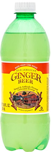 Old Jamaican Ginger Beer 20 oz (Pack of 24) Spicer, Carbonated Ginger Beer from Jamaica