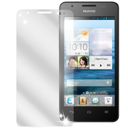 dipos I 2X Schutzfolie klar kompatibel mit Huawei Ascend G525 Folie Bildschirmschutzfolie