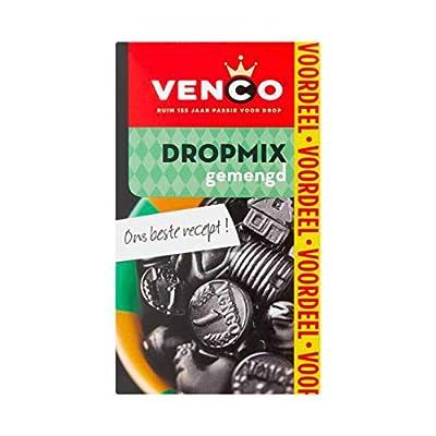 venco liquorice drop mix, assorted (gemengd), sweet, salt, soft & hard, 475 g (16.8 oz), 1 box Venco Liquorice Drop Mix, Assorted (Gemengd), Sweet, Salt, Soft & Hard, 475 g (16.8 oz), 1 Box 41EPNogLDFL