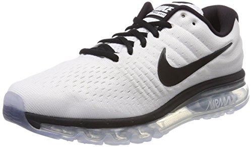 Nike Air MAX 2017, Zapatillas de Gimnasia Hombre, Blanco (White/Black 105), 40.5 EU