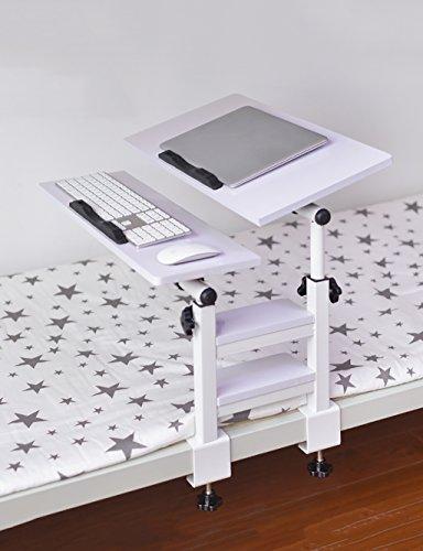 Table Pliante pour Ordinateur Portable Lit pour dortoir Bureau Pliant pour Table Pliante (4 Couleurs, 2 Styles Disponibles) (Couleur : 4#, Style : B)