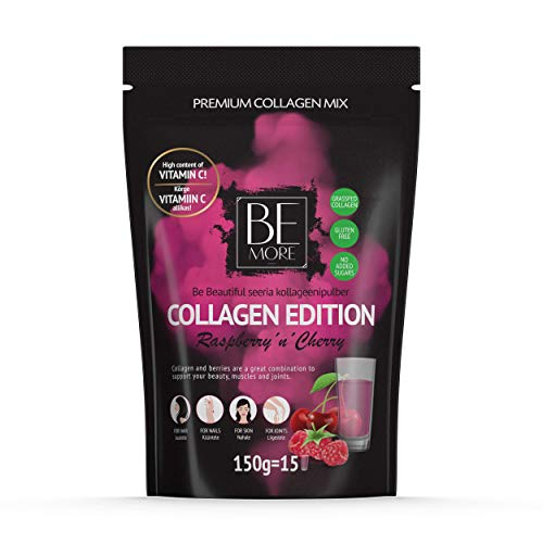 Be More Premium Collagen Powder Buckthorn'n'Lemon - Grass Fed Collagen Powder For Women, Men. Collagen Peptides Powder With No Added Sugar. Lactose, Gluten Free Bovine Collagen Nutritional Supplements