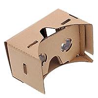 Größe der Bildschirm des Handy: 3.5–6.0Zoll Montiert Größe von Hahnemuhle: 145* 80* 80m m/5.7* 3.1* 3.1Zoll Installiert werden kann in 3Minuten Kommt mit Anwendung von Pappe, sehr einfache DIY einer virtuellen Realität Brille Material: Papp...