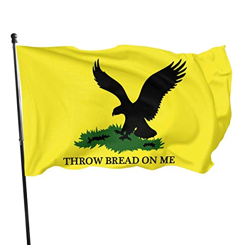 vipsung Throw Bread On Me Flag 3x5 Ft Outdoor Polyester Flag