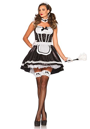 Leg Avenue - 8538005007 - Costume Fiona Plumeau - S/m (36-38 EU)
