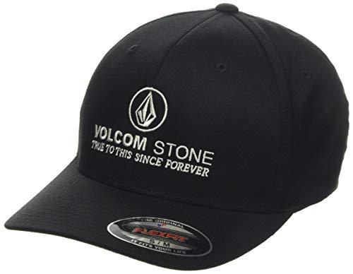 Volcom Super Clean Xfit Casquette à 6 Panneaux Homme, Black, FR : L (Taille Fabricant : L/XL)