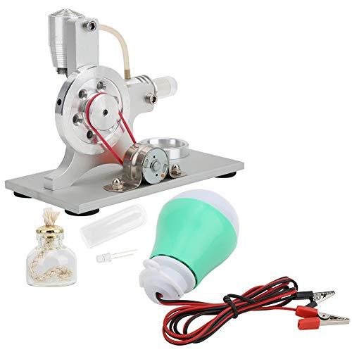 ミニ熱風スターリングエンジンの誕生日プレゼントミニエンジンモデルサイエンストイ実験/教育用 科学玩具実験モデル