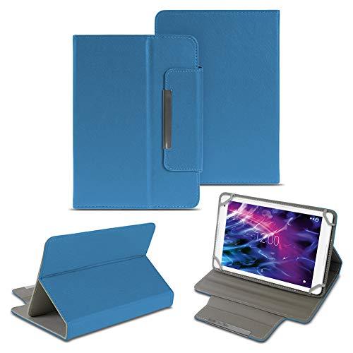 NAUC Medion Lifetab P10610 P10603 P10602 P9702 X10302 P10400 P10506 P10505 S10366 S10352 P10325 P10356 Schutzhülle Universal Tablet Tasche Kunstleder Tasche Hülle Standfunktion Cover Hülle, Farben:Blau
