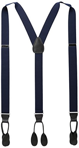 Preisvergleich Produktbild Stacy Adams Men's Big and Tall Extra Long Buttton on Suspenders,  Navy,  54