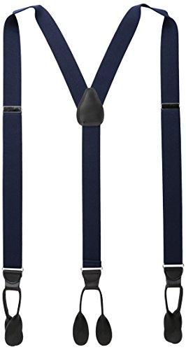 Preisvergleich Produktbild Stacy Adams Men's Big and Tall Extra Long Buttton on Suspenders,  Navy