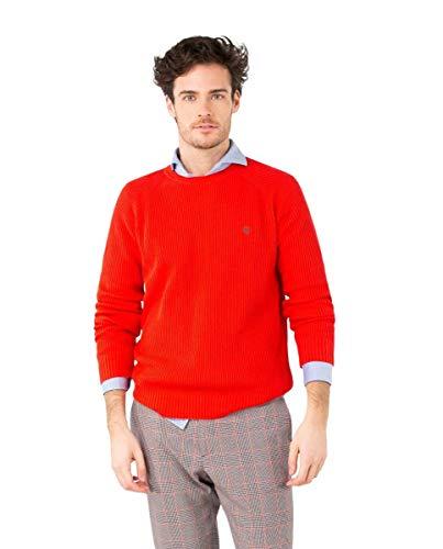 El Ganso Jersey Canalé Rojo