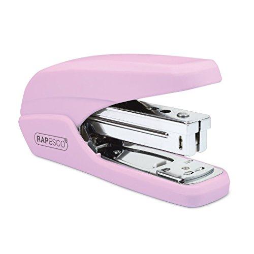 Rapesco 1339 X5-25ps Less Effort Heftgerät (Typ 26 & Typ 24/6mm Heftklammern) Reduzierter Kraftaufwand Tacker Rosa