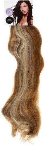 Love Hair Extensions - LHE/K1/QFC/120G/10PCS/18/10/22 - Thermofibre™ Lisses et Soyeux - 10 Pièces Clippants en Extensions - Couleur 10/22 - Blond Cendre Moyen / Blond Plage - 46 cm