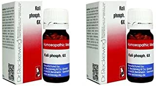 2 x Dr.Reckeweg-Germany Kali Phosph. 6x. Homeopathic Medicine