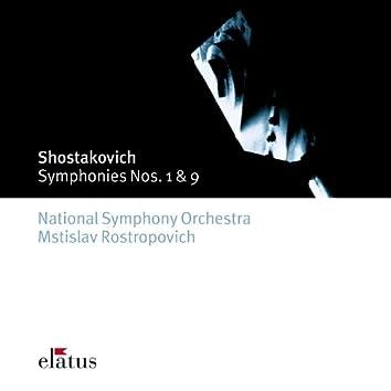 Shostakovich : Symphonies Nos 1 & 9  -  Elatus